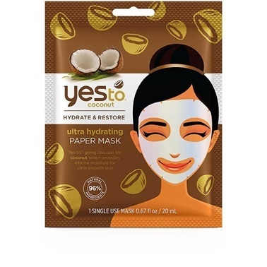 Yes to  Coconut Ultra Hydrating Paper Mask 20ml Renksiz